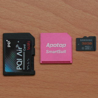 PQI Air Card 轉卡對記憶卡速度的影響測試 @3C 達人廖阿輝