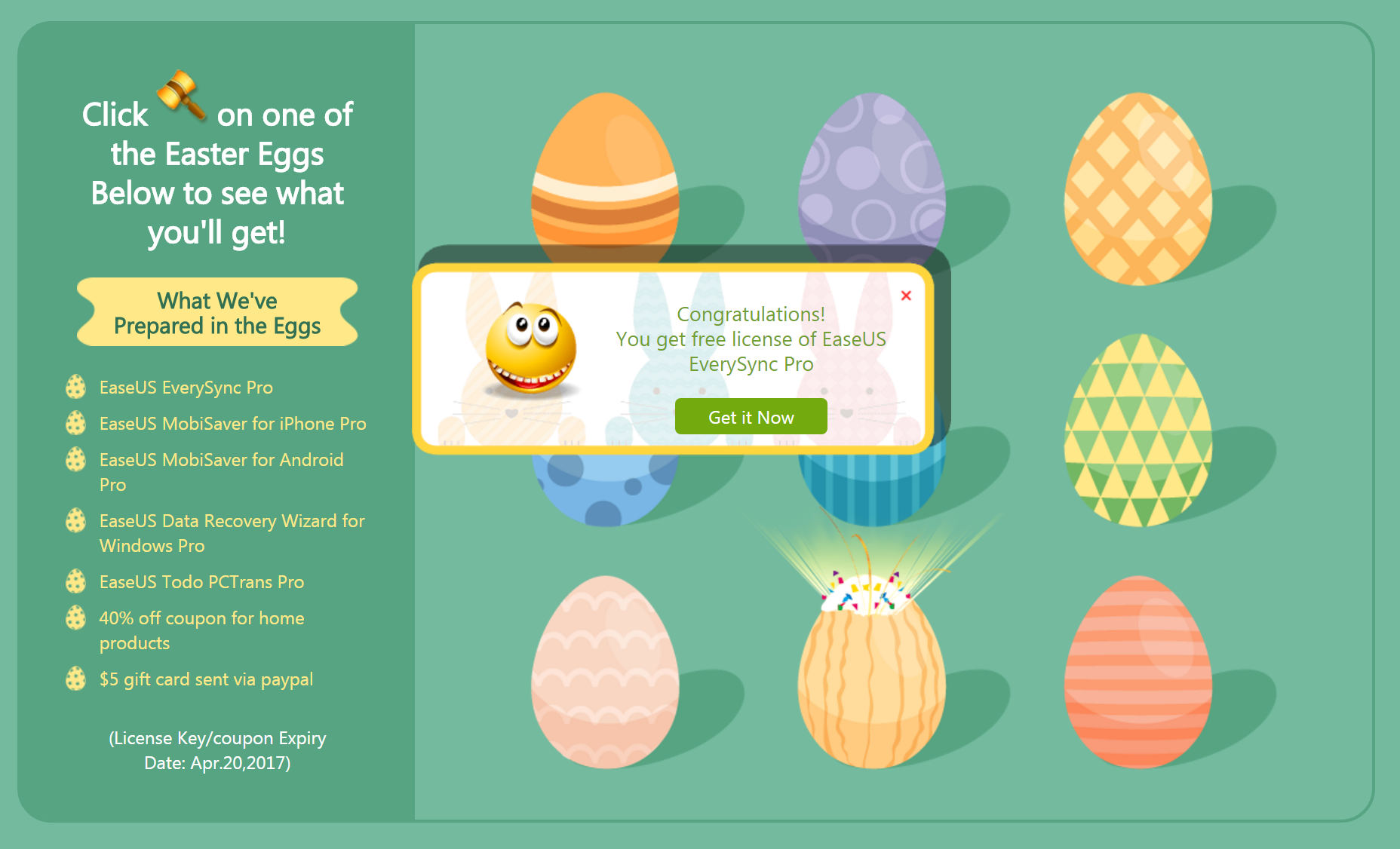 2017-04-13 11_18_06-Easter Special Offer – EaseUS Software – Cent Browser @3C 達人廖阿輝