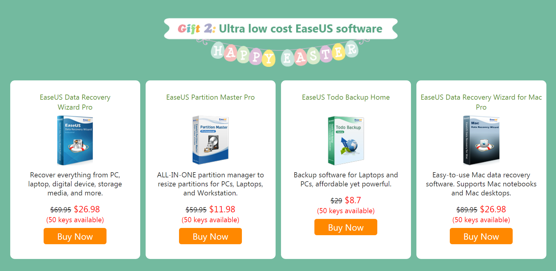 2017-04-13 11_18_17-Easter Special Offer – EaseUS Software – Cent Browser @3C 達人廖阿輝