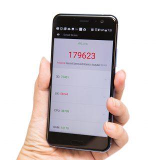 效能+電力實測!HTC U11 性能創新高紀錄! @3C 達人廖阿輝