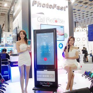 Computex 2017:全球首款 iPhone 通訊錄音 PhotoFast Call Recorder 發表 @3C 達人廖阿輝