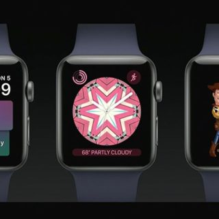 [WWDC 2017] 蘋果發表 WatchOS 4.0 加入卡片介面與玩具總動員等新錶面 @3C 達人廖阿輝