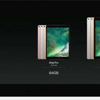 [WWDC 2017] 支援 HDR 播放與 120Hz 的全新 iPad Pro 亮相,提供 10.5 與 12.9 兩尺寸 @3C 達人廖阿輝