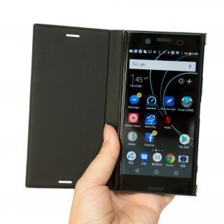 Xperia XZ Premium 原廠好保護!專用可立式保護殼 SCSG10 開箱 @3C 達人廖阿輝