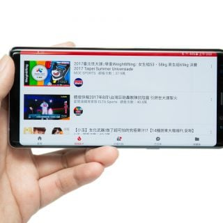 Note 8 碰到 Youtube 無法全螢幕的解決方法 @3C 達人廖阿輝