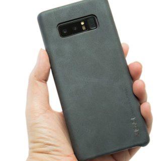想幫 Note 8 找保護殼嗎?極薄復古皮革保護背蓋 入手分享 @3C 達人廖阿輝
