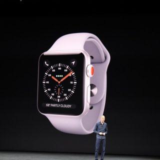 可以打電話 Apple Watch series 3!搭載 eSIM 連網功能、運作效率更快 @3C 達人廖阿輝