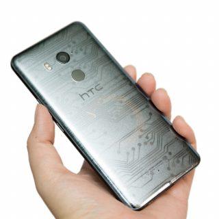 HTC U11 透黑版開箱 / 全貼合保護貼 + 包膜完整保護好看分享 @3C 達人廖阿輝