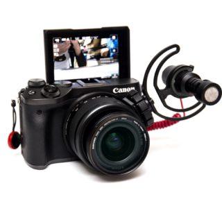 Canon EOS M6 外接麥克風解決方案 (3D 列印鏡頭熱靴座) @3C 達人廖阿輝
