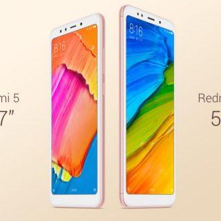 台灣小米發表平價全螢幕手機 紅米 5 / 紅米 5 Plus!市面平價全螢幕手機規格表彙整! @3C 達人廖阿輝