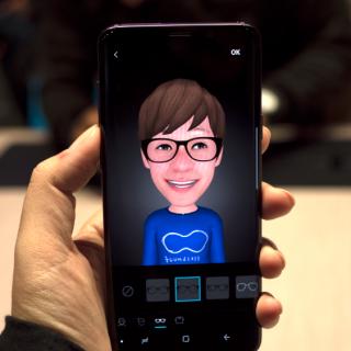 [MWC] 三星 Galaxy S9/S9+ AR 表情符號(ar emoji 虛擬人偶)試玩示範(影片) @3C 達人廖阿輝