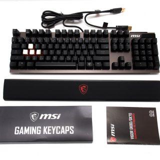 旗艦電競機械鍵盤!MSI 微星 Vigor GK80 開箱分享(紅軸版本) @3C 達人廖阿輝