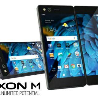 [MWC] ZTE Axon M 雙螢幕摺疊手機親手試玩!(影片) @3C 達人廖阿輝