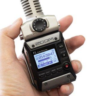 收音錄音設備介紹 (1) ZOOM F1 與配件 @3C 達人廖阿輝
