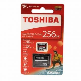 相機手機都好用!高速記憶卡 TOSHIBA EXCERIA M303 microSDXC UHS-I 256GB 開箱 &測試分享 @3C 達人廖阿輝