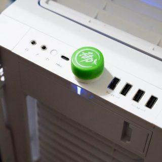 [3D 列印] 桌機電源按鍵保護瓶蓋(防寵物/小孩誤觸) @3C 達人廖阿輝