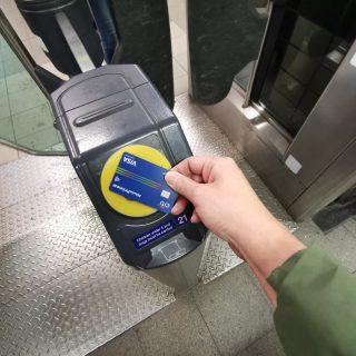 倫敦地鐵掃信用卡就行!實測台灣信用卡與行動支付測試 @3C 達人廖阿輝