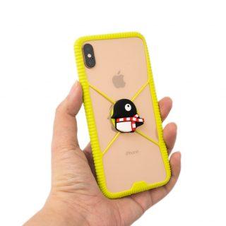 開箱不推薦!BONE 環形手機綁 Phone RingTie 防手滑輕薄手機框入手分享 @3C 達人廖阿輝
