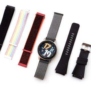 Galaxy Watch 通用快拆尼龍錶帶入手 (22mm) @3C 達人廖阿輝