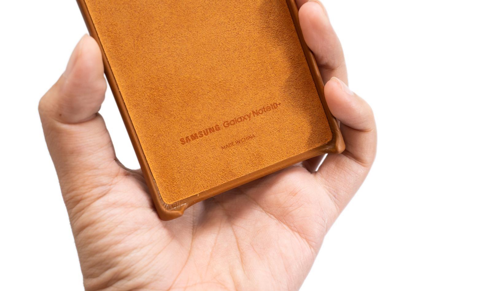 幫 Galaxy Note 10/10+ 找保護殼?原廠三星『立架式保護皮套』和『皮革保護背蓋』大圖清晰開箱分享 @3C 達人廖阿輝