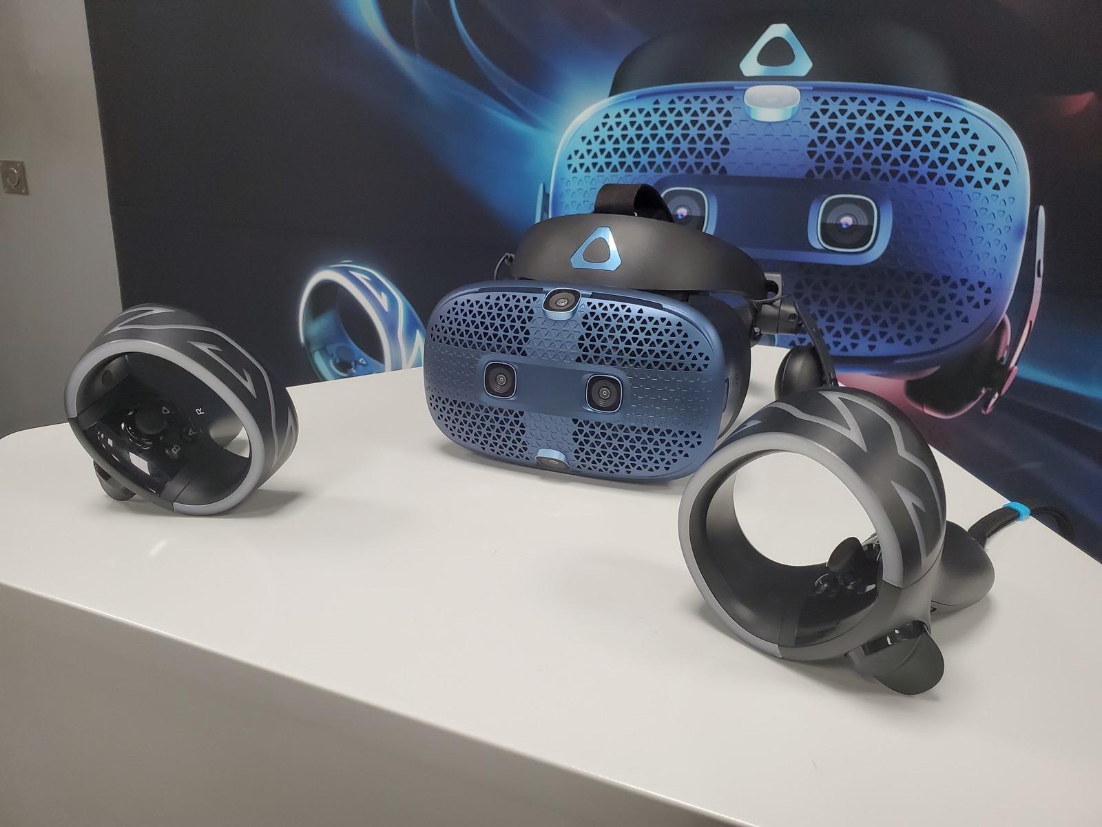 更新更方便!不需基地台的 VIVE Cosmos 開放預購!新控制器更好用還可以擴充升級 @3C 達人廖阿輝