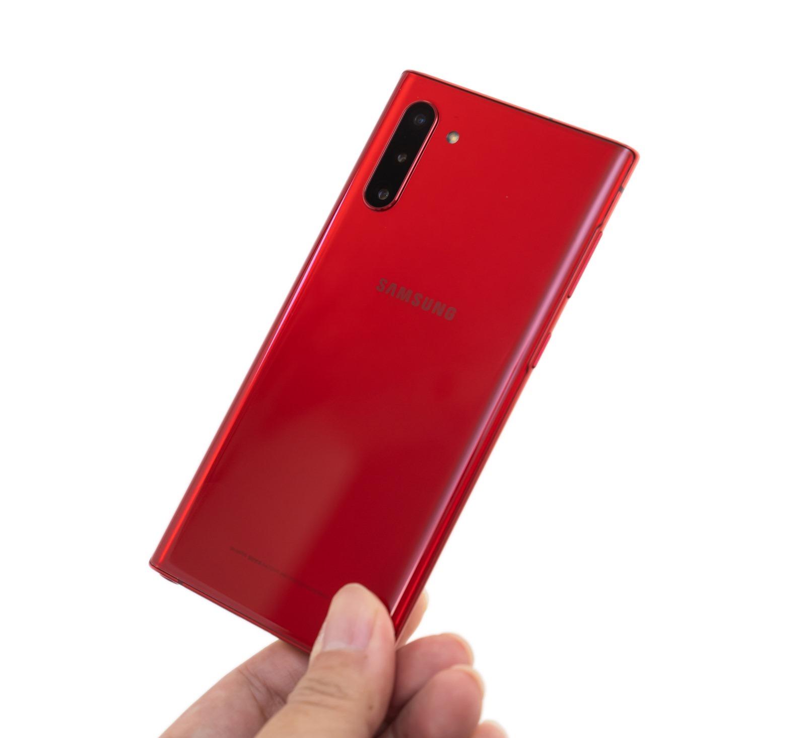 超美三星 Galaxy Note 10 紅色機看過沒?沒看過實機開箱給你看! @3C 達人廖阿輝