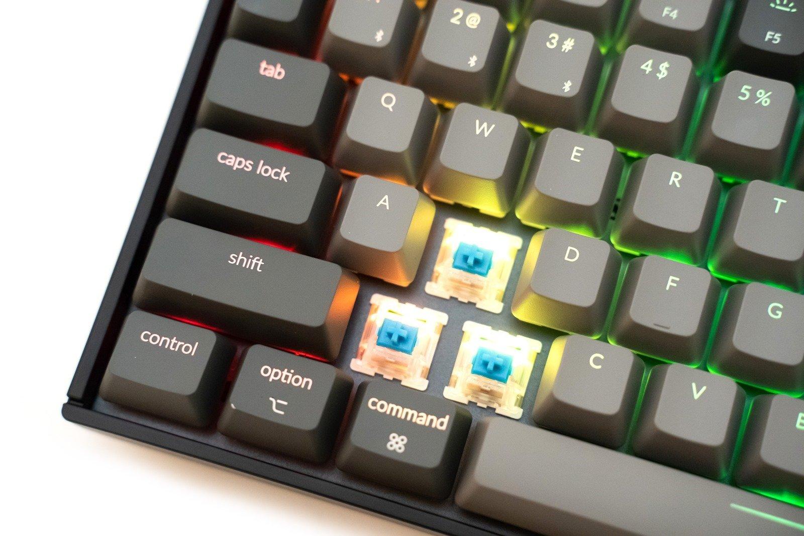 小巧全功能!75 鍵特殊佈局的 Keychron K2 機械鍵盤開箱 + 使用心得分享 @3C 達人廖阿輝