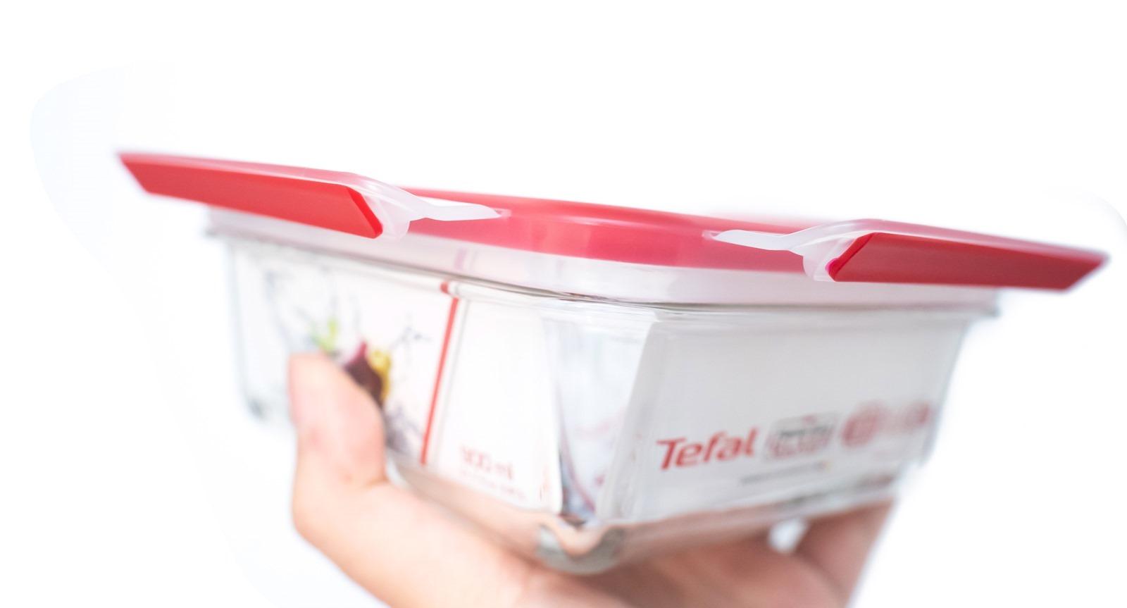 無縫保鮮 200%,輕鬆清潔推薦,法國特福 Tefal 無縫膠圈保鮮盒 @3C 達人廖阿輝