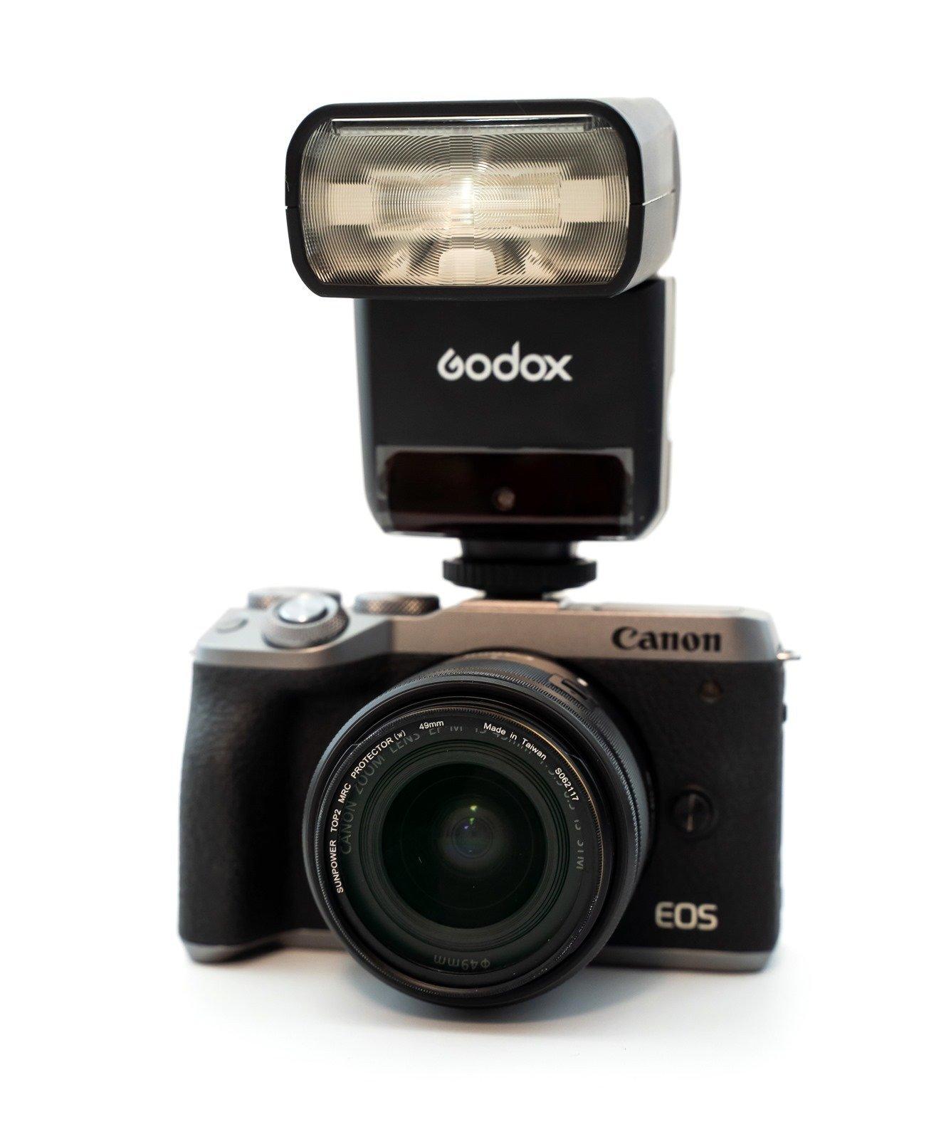 Canon EOS M6 Mark II 入手開箱分享,還有與 M6 比較 / TT350C 閃光燈相容性問題 @3C 達人廖阿輝