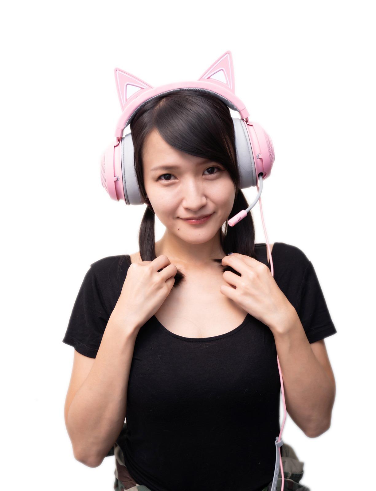 最萌電競耳機就是它!Razer 北海巨妖萌貓版 KRAKEN Kitty Edition 開箱! @3C 達人廖阿輝