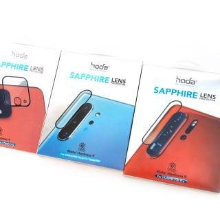 手機鏡頭保護?要用就用藍寶石保護貼!hoda 推出多款藍寶石鏡頭保護貼產品(三星 Note 10 / 華為 P30 Pro / Google Pixel 4) @3C 達人廖阿輝