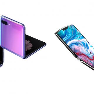 折疊螢幕手機誰好誰爛?Samsung Z Flip 與 Moto Razr 2019 規格比一比! @3C 達人廖阿輝