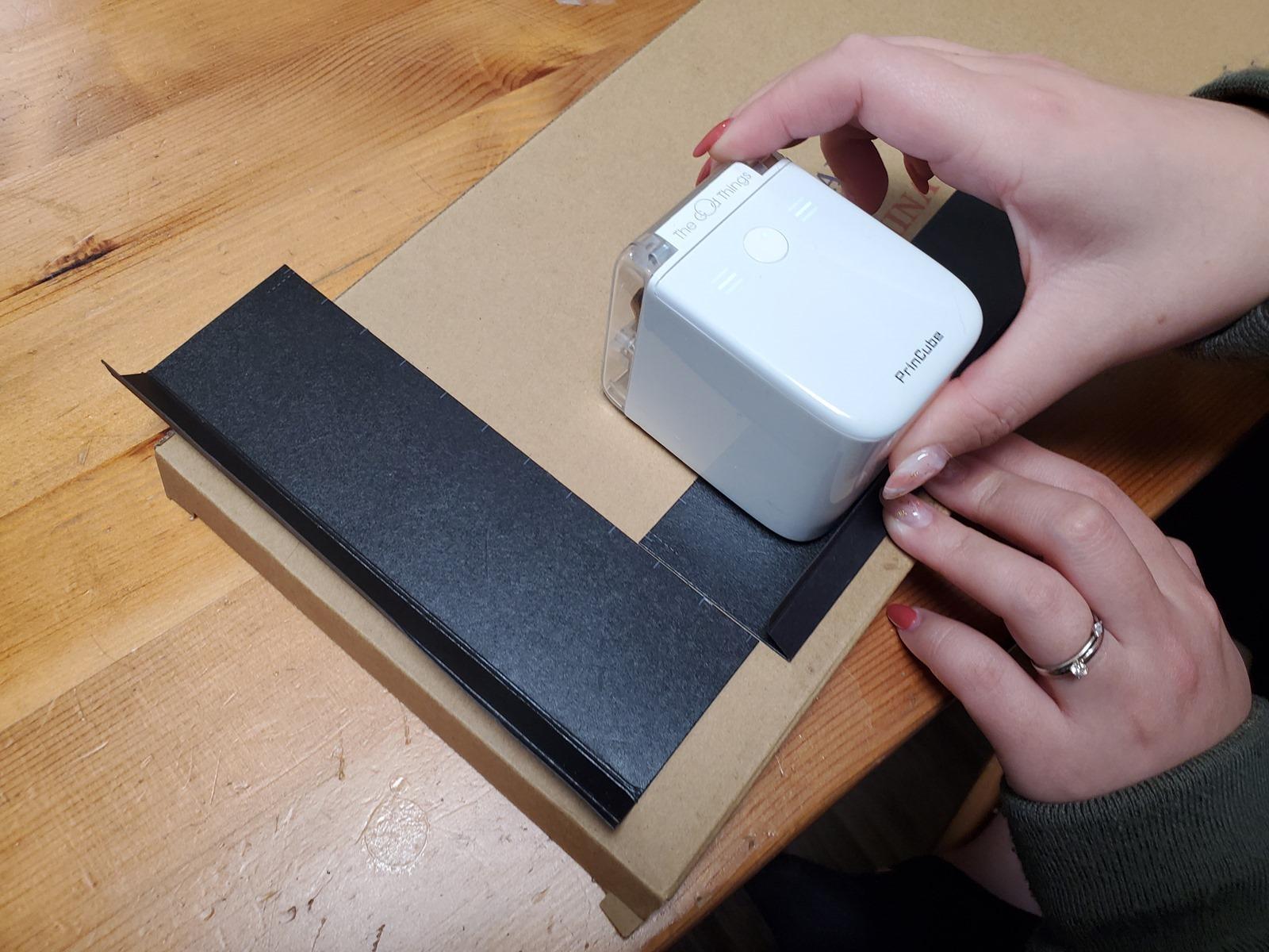 隨手印突破列印傳統限制!PrinCube 口袋印表機開箱 + 實測 @3C 達人廖阿輝