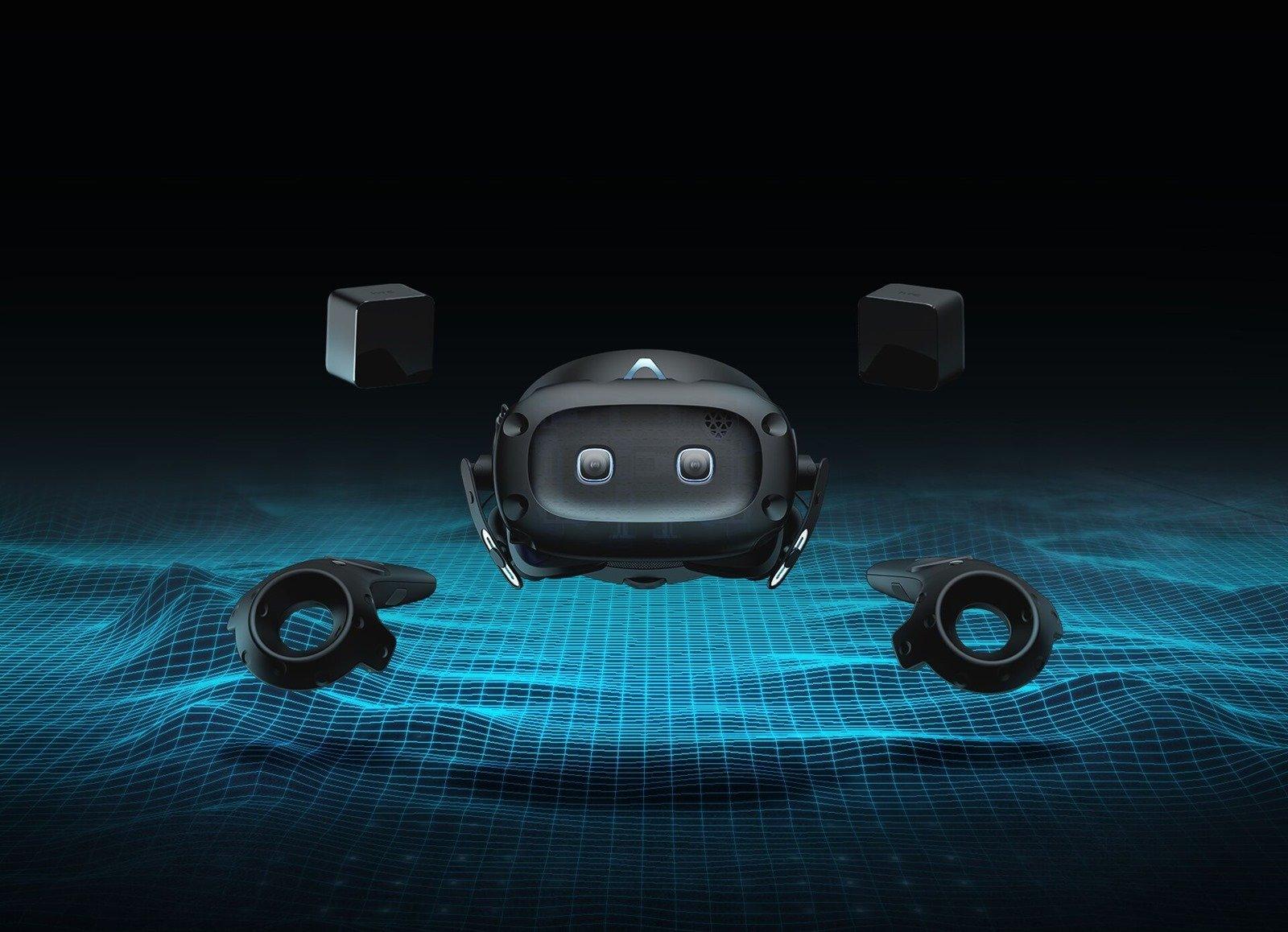 htc 揭開 VIVE COSMOS 完整系列,正式推出 VIVE Cosmos Elite、VIVE Cosmos XR 及 VIVE Cosmos Play @3C 達人廖阿輝
