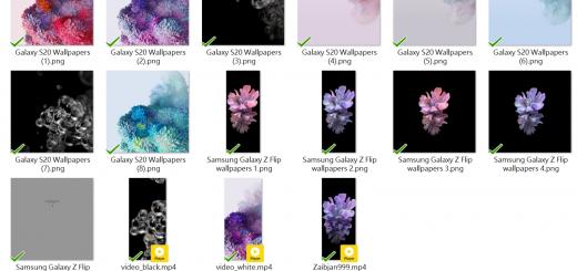 不管買不買就先下載吧!Galaxy S20 系列桌布 / Z Flip 桌布提供 @3C 達人廖阿輝