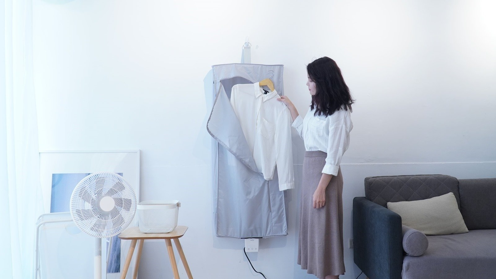 『智慧摺疊乾衣機』解救雨天困擾!還有 App 遙控烘衣助殺菌,募資破 500 萬元 @3C 達人廖阿輝