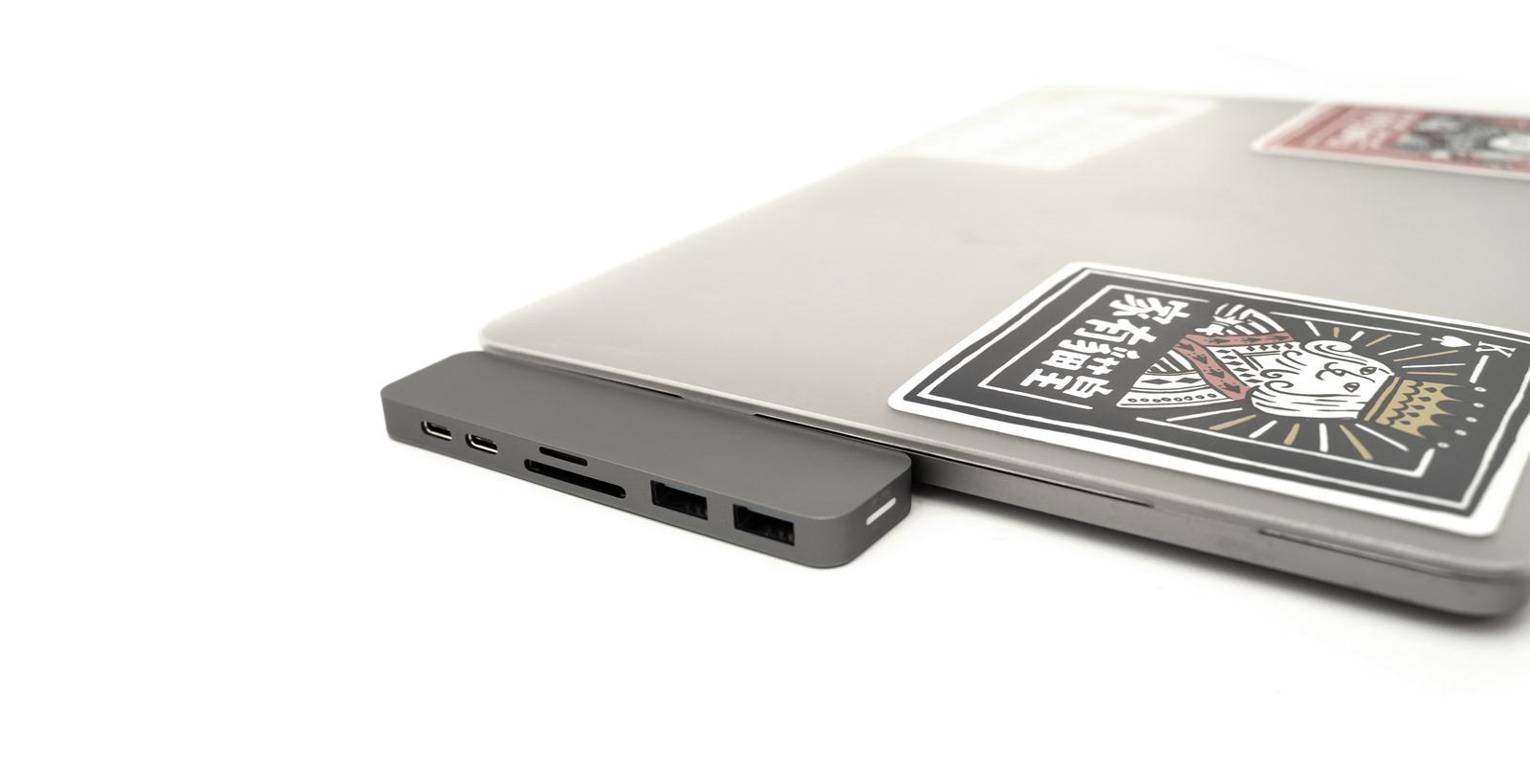 募資超過兩億 HyperDrive 7-in-2 USB-C Hub,專為 Mac 打造,疾速美型雙 USB-C 集線器 @3C 達人廖阿輝