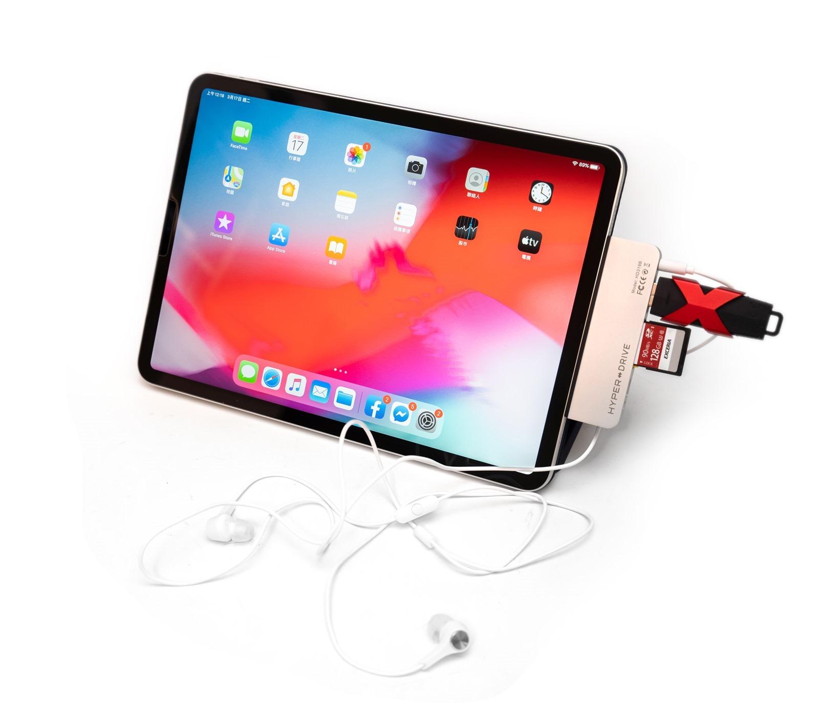 iPad Pro 也能用!HyperDrive6-in-1 iPad Pro 版本,電腦也可以用! @3C 達人廖阿輝
