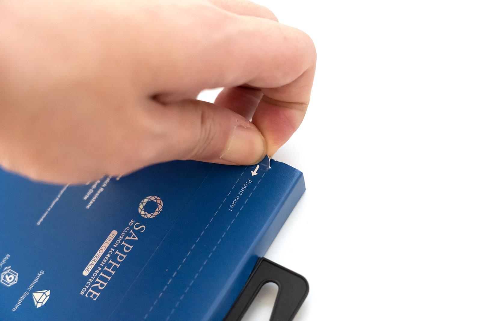 穩定、高級、新科技!耐刮防磨有夠硬!hoda 藍寶石保護貼 @3C 達人廖阿輝