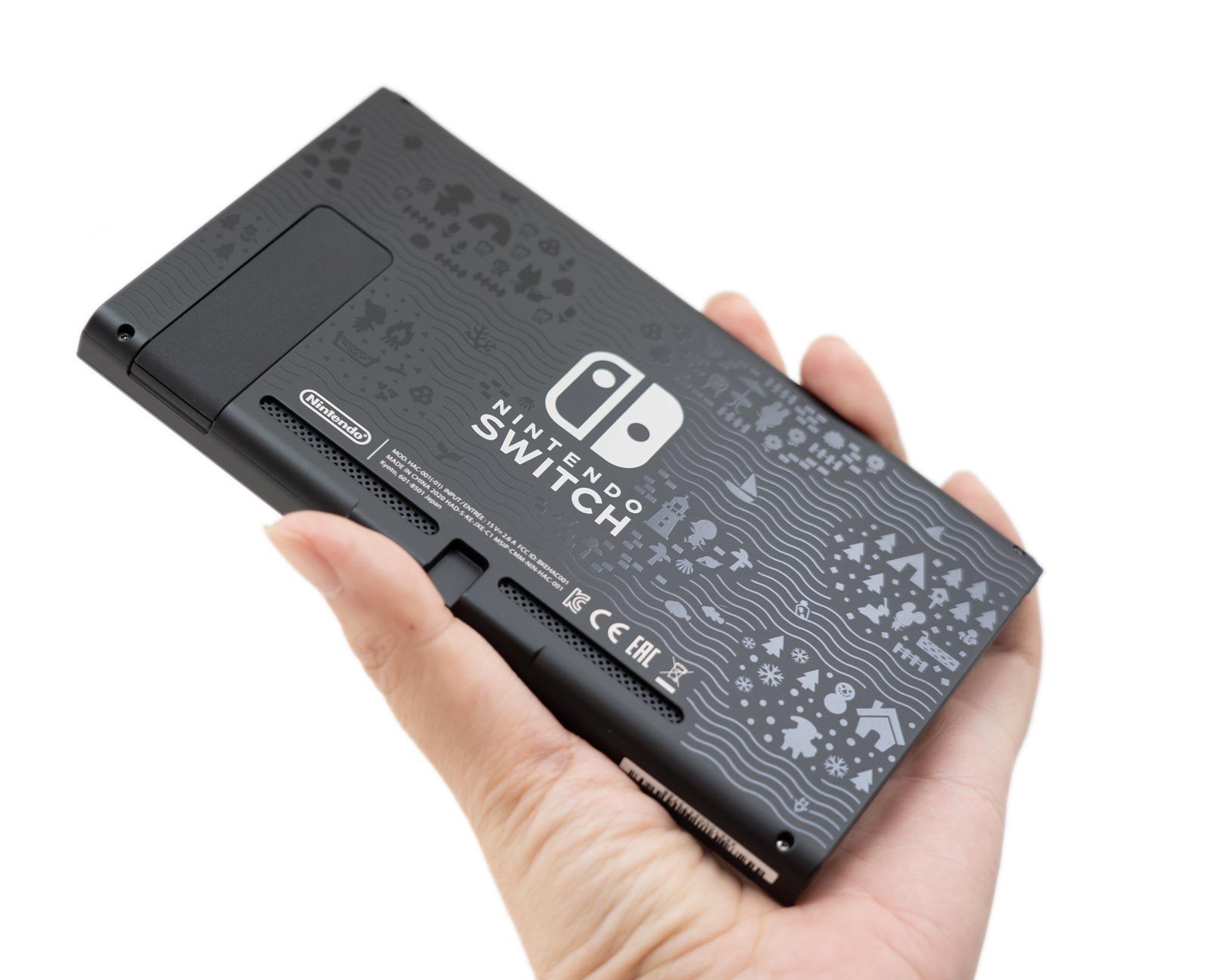 開箱啦!『集合啦!動物森友會』特仕 Nintendo Switch 主機有夠可愛!動物之森特別主機 @3C 達人廖阿輝