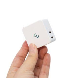 Allite 氮化鎵快充 – 世界最小氮化鎵 65W 雙 USB-C 快充實測 @3C 達人廖阿輝