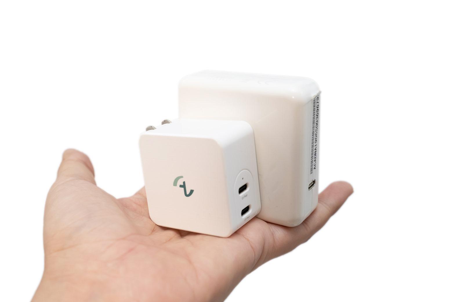 Allite 氮化鎵快充 – 世界最小氮化鎵 65W 雙 USB-C 快速充電器實測 @3C 達人廖阿輝