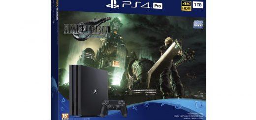 太空戰士同捆機!PlayStation®4 Pro「FINAL FANTASY VII REMAKE Pack」2020 年 4 月 10 日(五)起在台限量發售 @3C 達人廖阿輝
