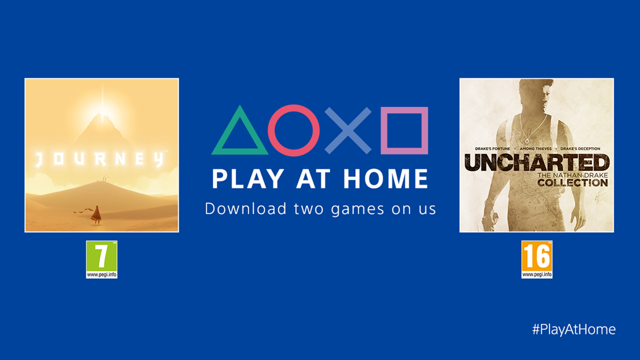 PlayStation 推出「Play At Home」活動,不需 PS Plus 都可獲得兩套免費遊戲 @3C 達人廖阿輝