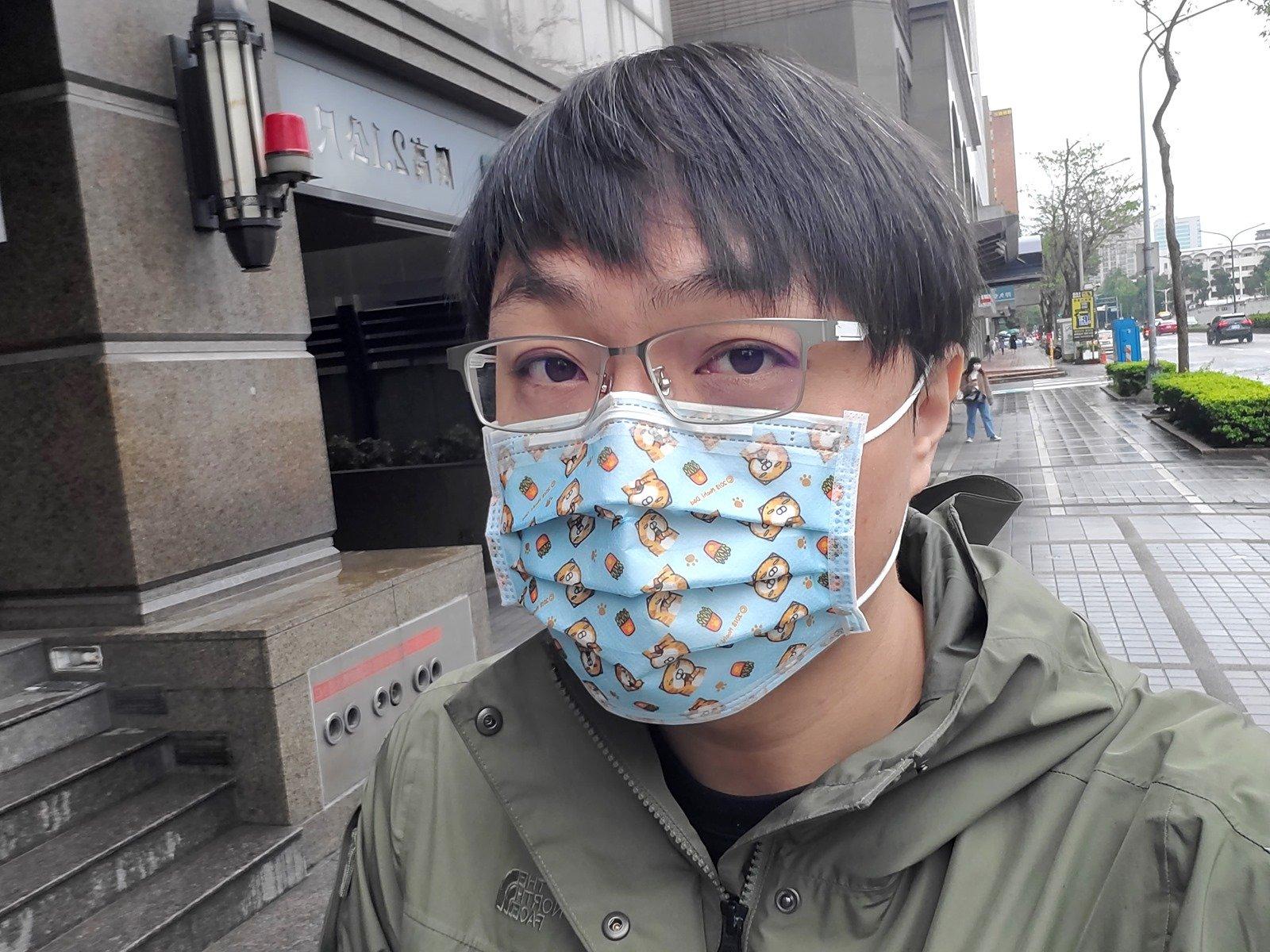 [聊新聞] 各種口罩臉部辨識技巧阿輝怎麼看? @3C 達人廖阿輝