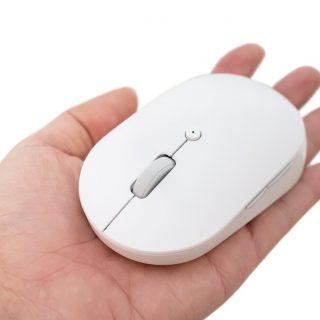 無線雙模 + 靜音按鍵!只要 NT$365 小米無線雙模滑鼠 靜音版 開箱!可以兩台電腦一起用 @3C 達人廖阿輝