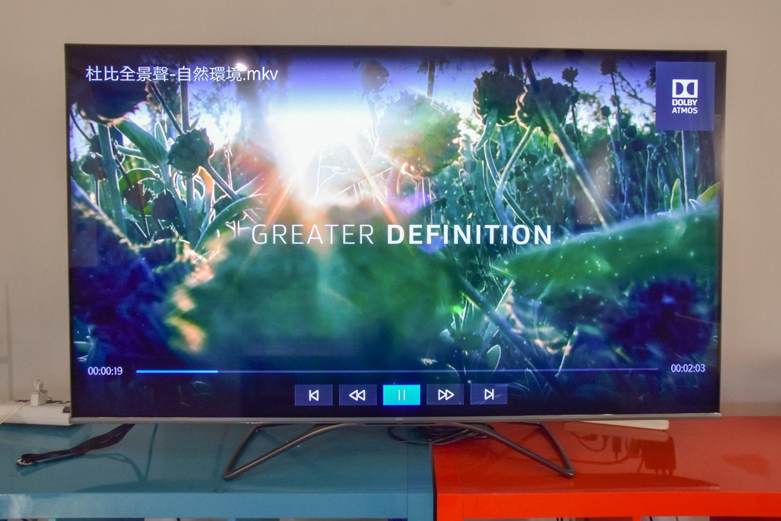 最超值的豪華視覺響宴!SAMPO 量子點 4K 電視 QM-65WA500 @3C 達人廖阿輝