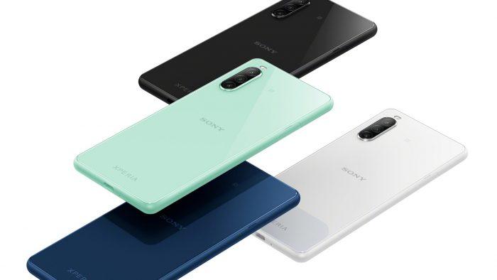 圖說一、Sony-Mobile 全新萬元防水手機 Xperia-10-II 將於 0520 在台上市,推出可可黑、奶油白、薄荷綠、莓果藍四款美色。.jpg @3C 達人廖阿輝