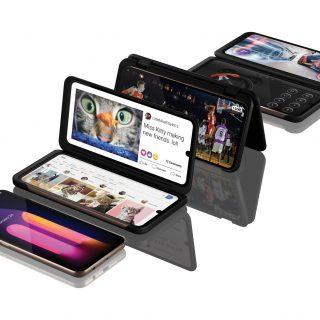 LG 首款 5G 雙螢手機 V60ThinQ5G Dual Screen 霸氣登台!6.8 吋 OLED 雙螢幕 完整紀錄 8K 影像突破視覺震撼饗宴 @3C 達人廖阿輝