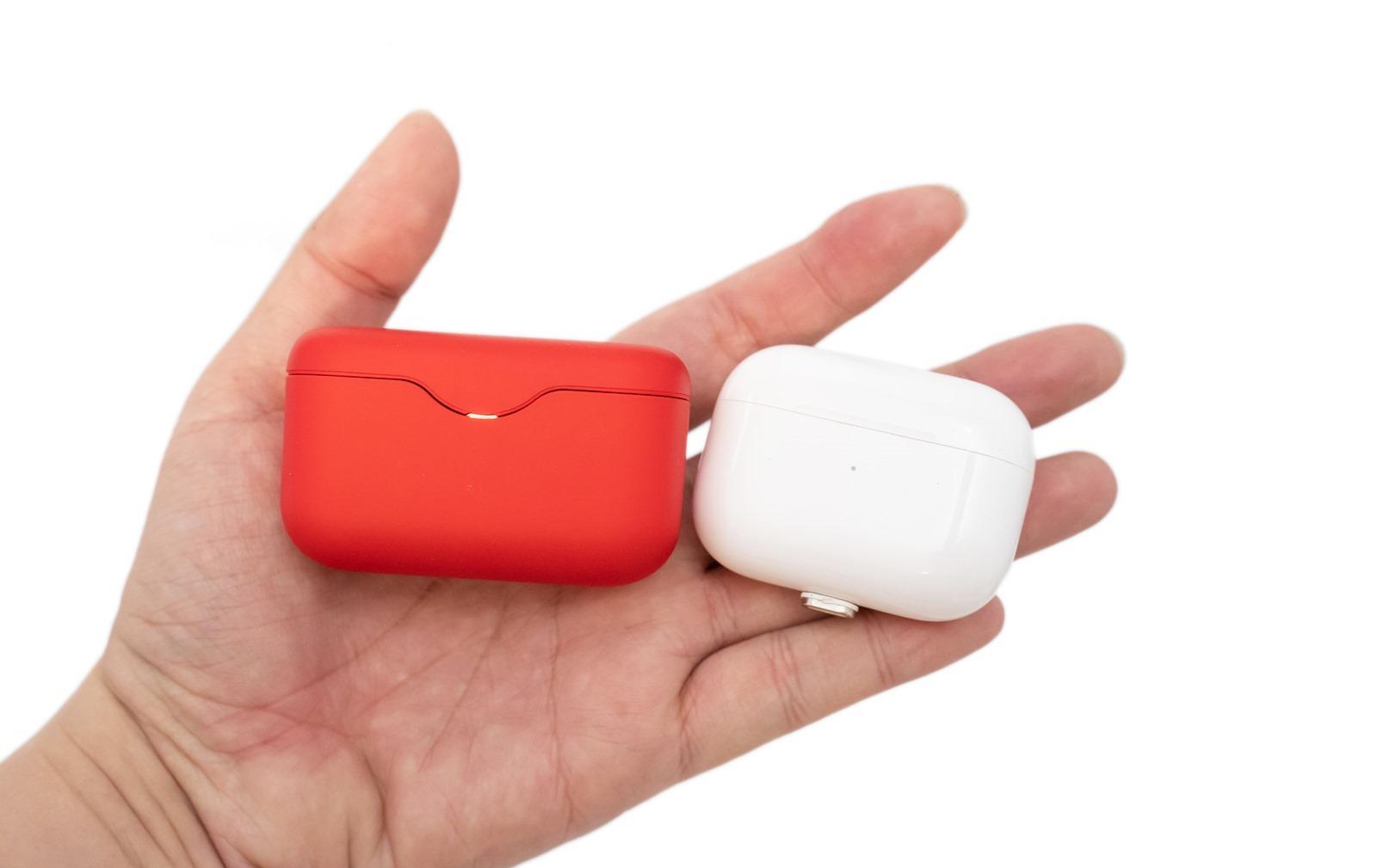 Sony 最小巧真無線耳機 WF-H800 開箱!要音質要輕巧還要好看!! @3C 達人廖阿輝